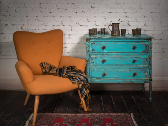 Antique furniture fits love of minimalism